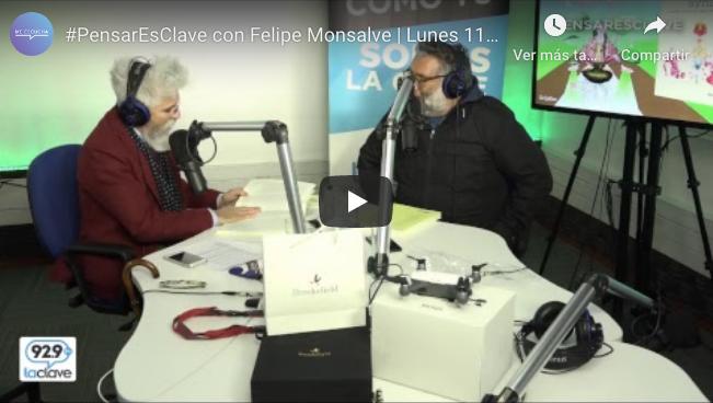 #PensarEsClave con Felipe Monsalve